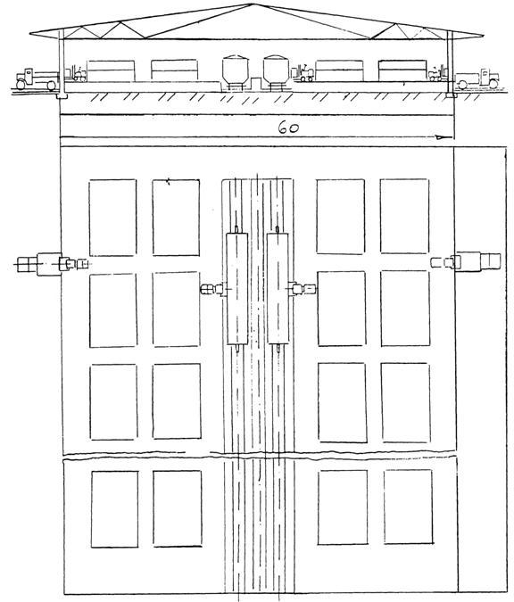 Схема механизированного склада