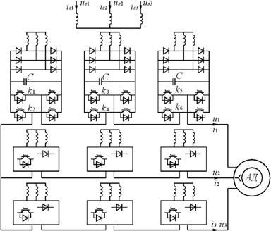 Рис.7.5.1 Схема электропривода