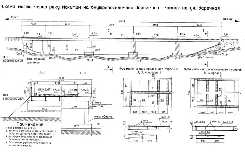 Рис.8 Схема моста, сделанная в