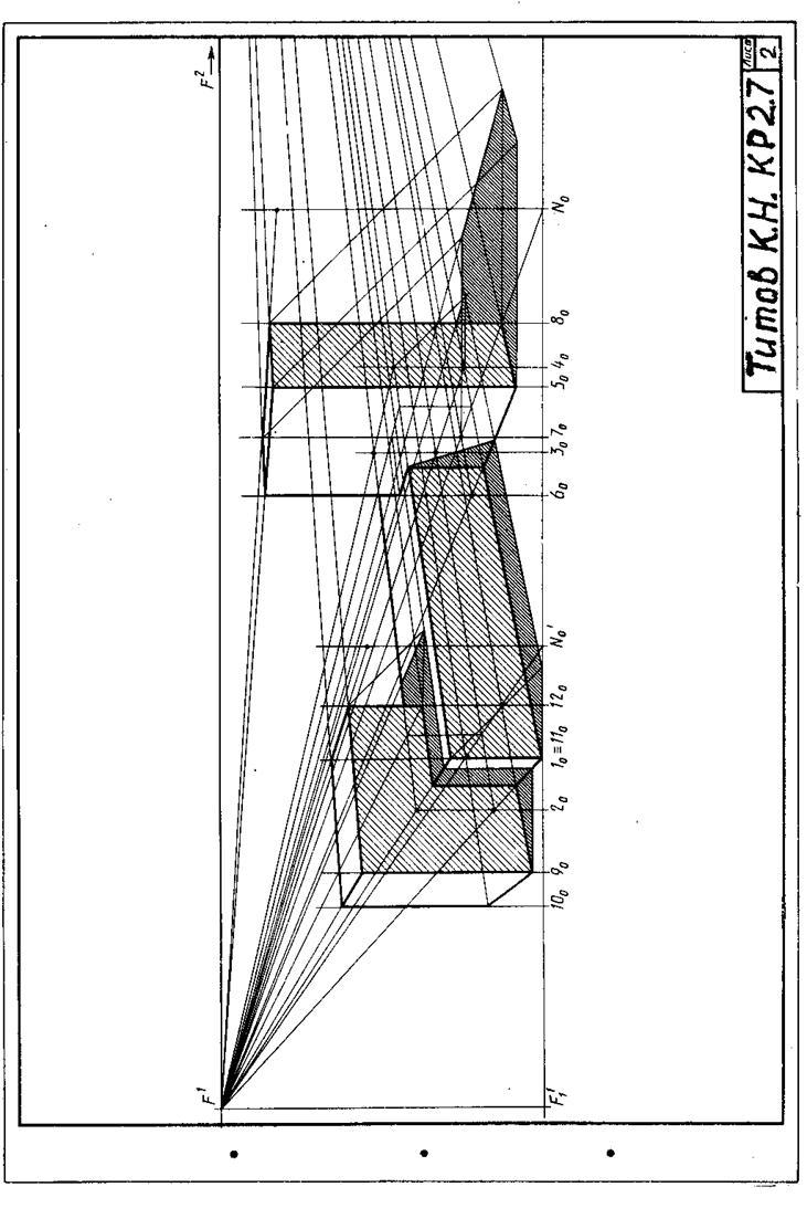 Тени Перспектива Проекции с числовыми отметками Программа  Тени Перспектива Проекции с числовыми отметками Программа методические указания и контрольные задания страница 3