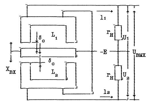 схема двухтактного датчика