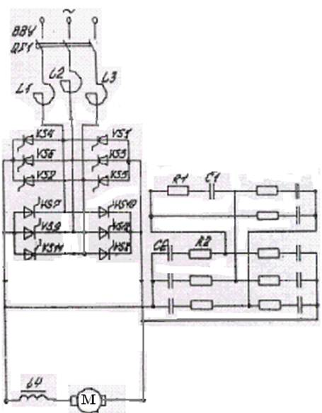 Рисунок 1.1 – Схема силовых