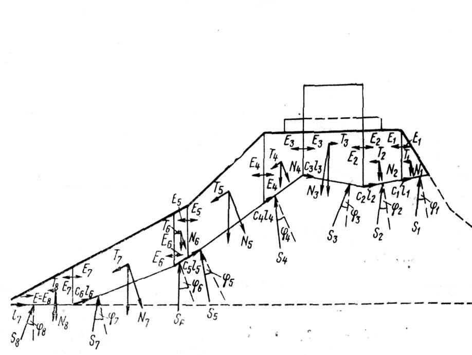 Расчётная схема. (рис 34)