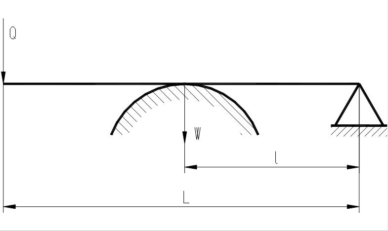 Рисунок 12.3 – схема рычажного