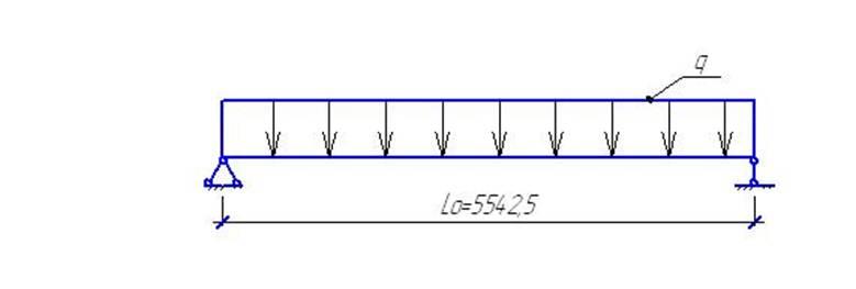 2.3 Расчетная схема и