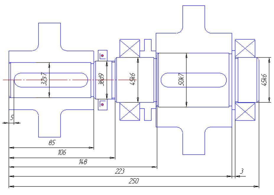 Рис. 1 Компоновочная схема