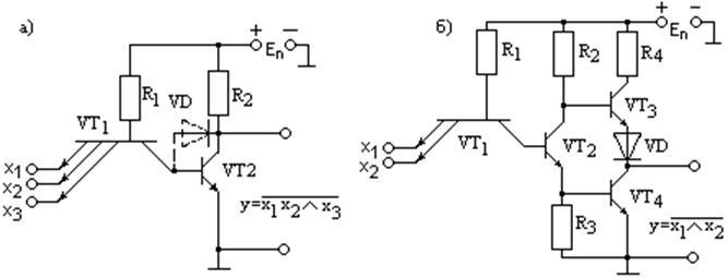 Схемы логических И — НЕ ТТЛ с