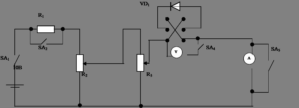 полупроводникового диода;