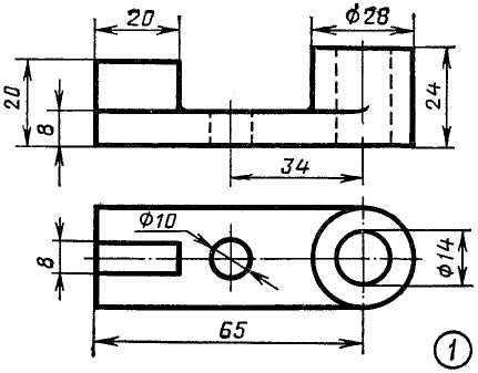 Как сделать простейший чертеж 112