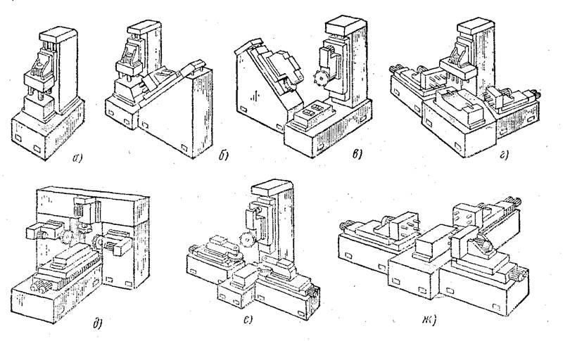 Примеры компоновок агрегатных