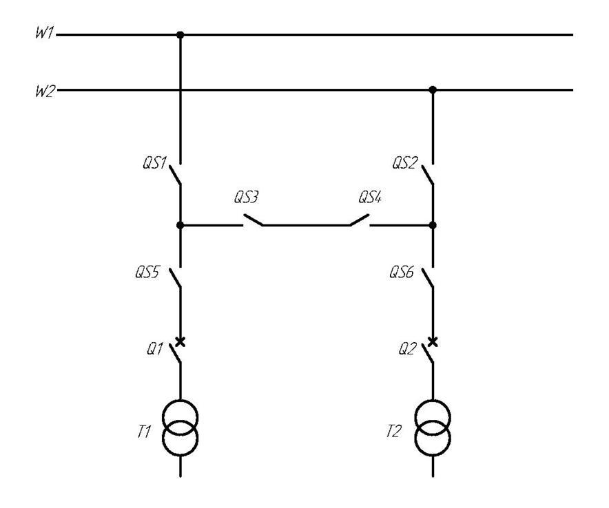Рисунок 4.1 Схема подключения