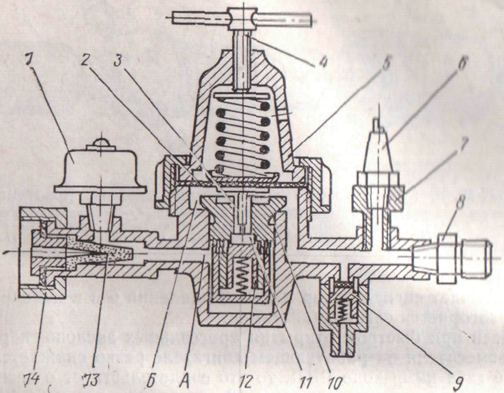 схема редуктора газовый автомобильный