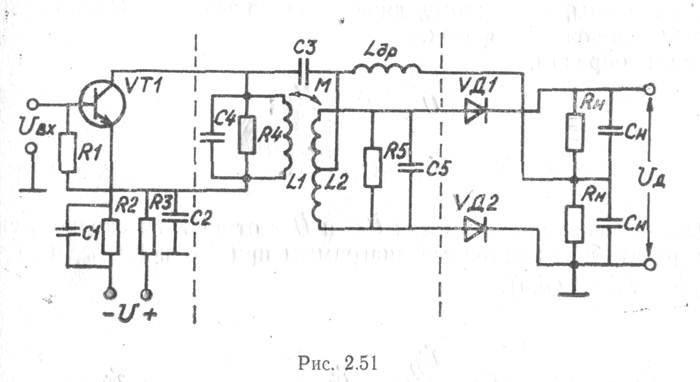 схема частотного детектора