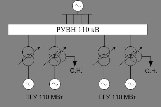 Рисунок 6.1 - Вариант схемы