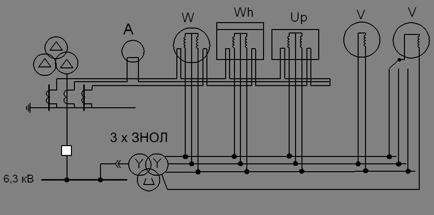 Рисунок 12.1 - Схема включения