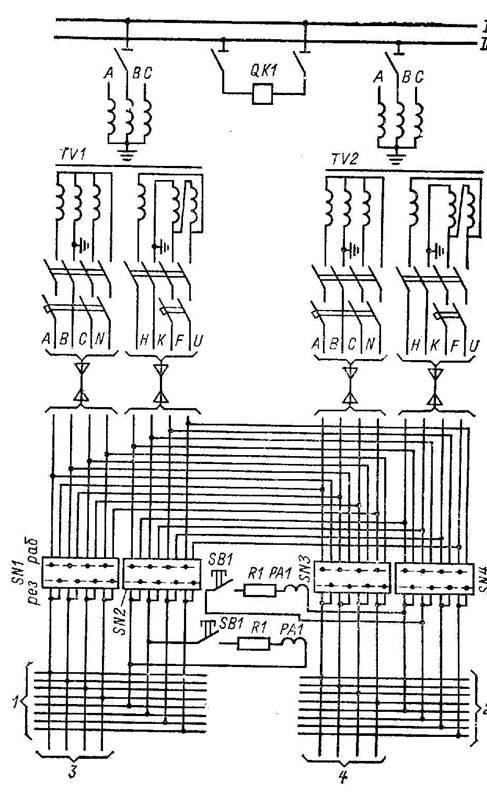 Проектирование схем релейной