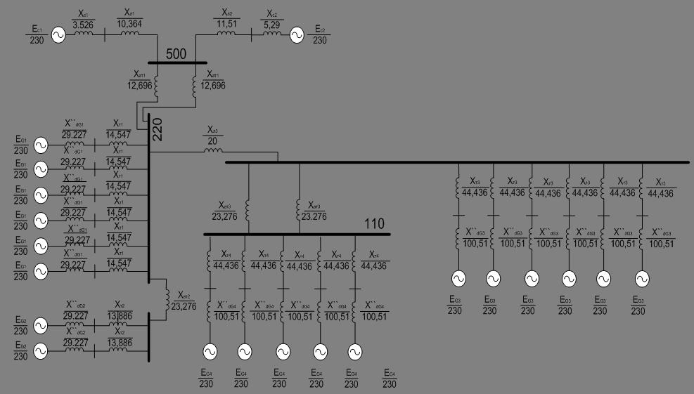 Рисунок 6 – Схема замещения