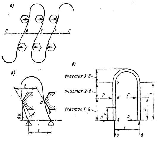 Рисунок 8.3 Расчетные схемы