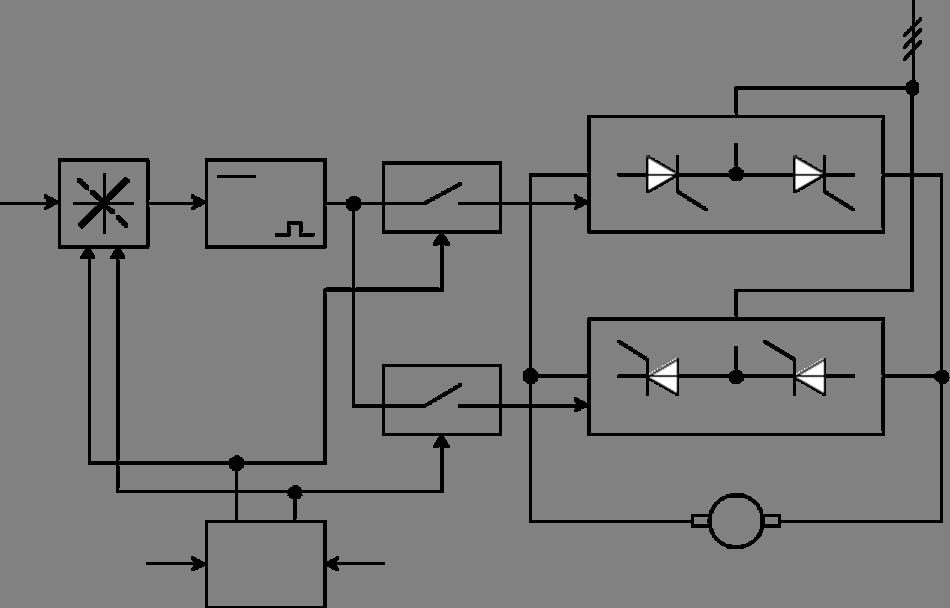 Тиристорный преобразователь представляет собой существенно нелинейное звено из-за дискретности управления и...