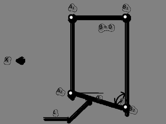 А1,В1,А2,В2,Х,γ,α,β = 0,L