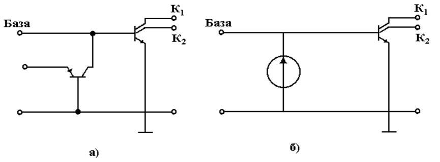 Эквивалентная схема структуры