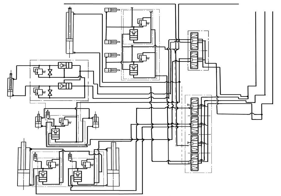 Гидравлическая схема секции