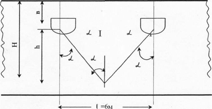 Рисунок 7.2 - Схема к расчету