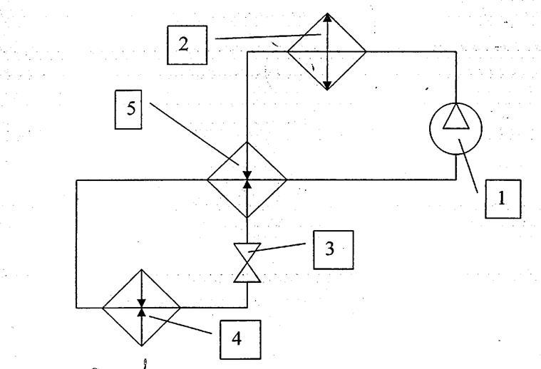 Холодильный цикл с