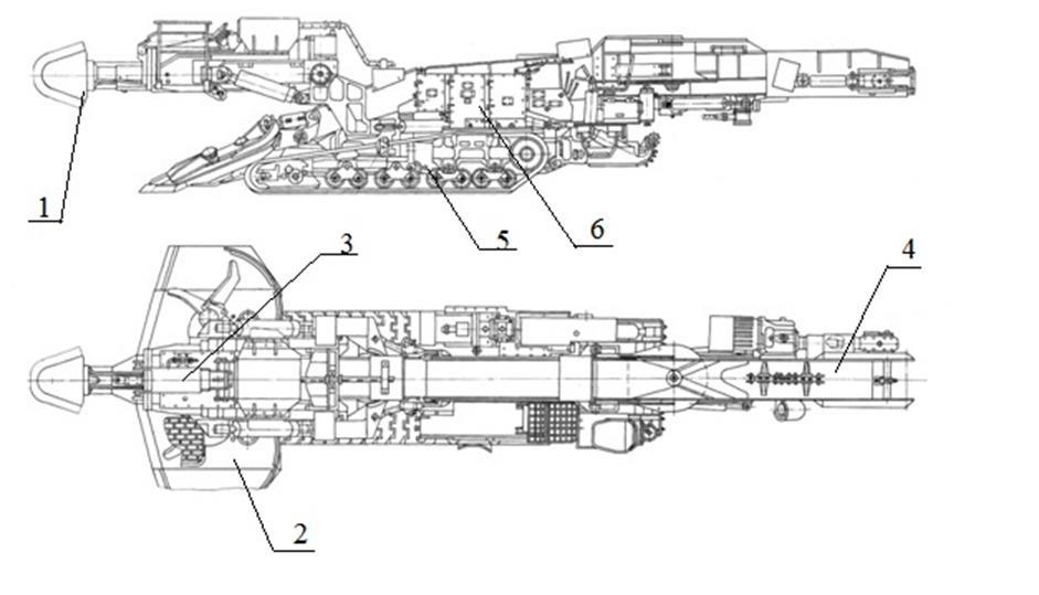 Комбайн проходческий ксп 33