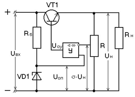 Рис. 53 - Схема стабилизатора
