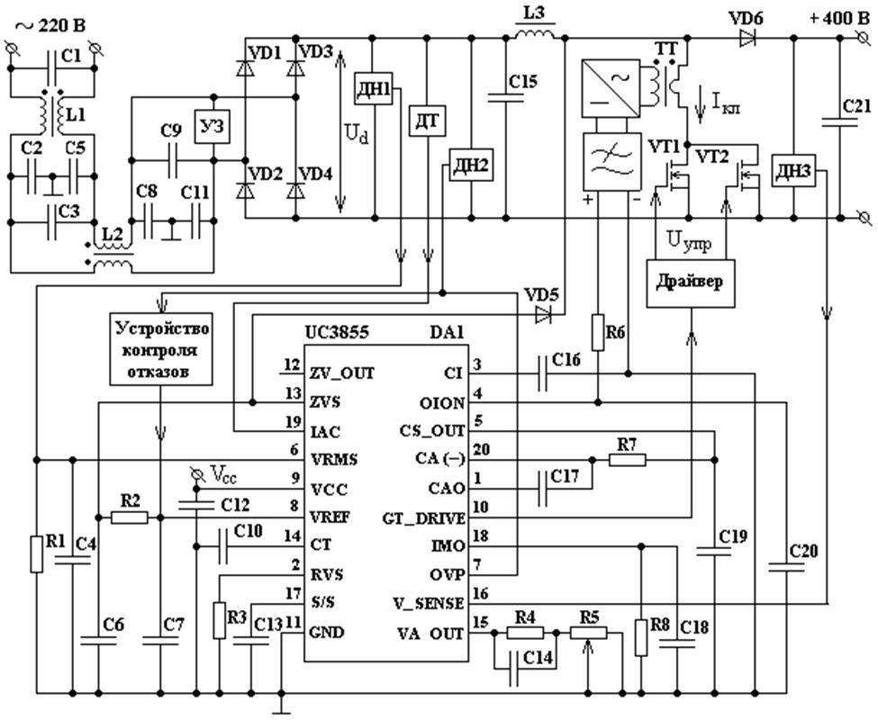 Функциональная схема ККМ