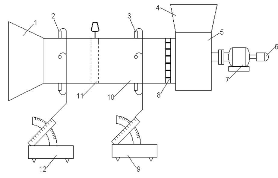 Схема установки и приборов