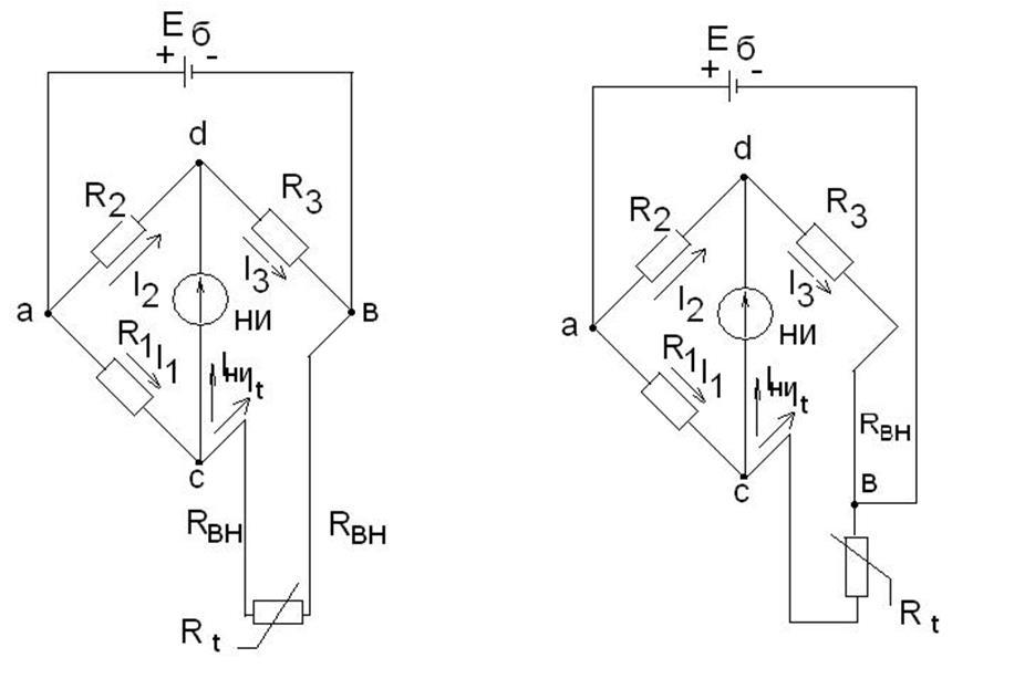 Рис1. Схема уравновешенного