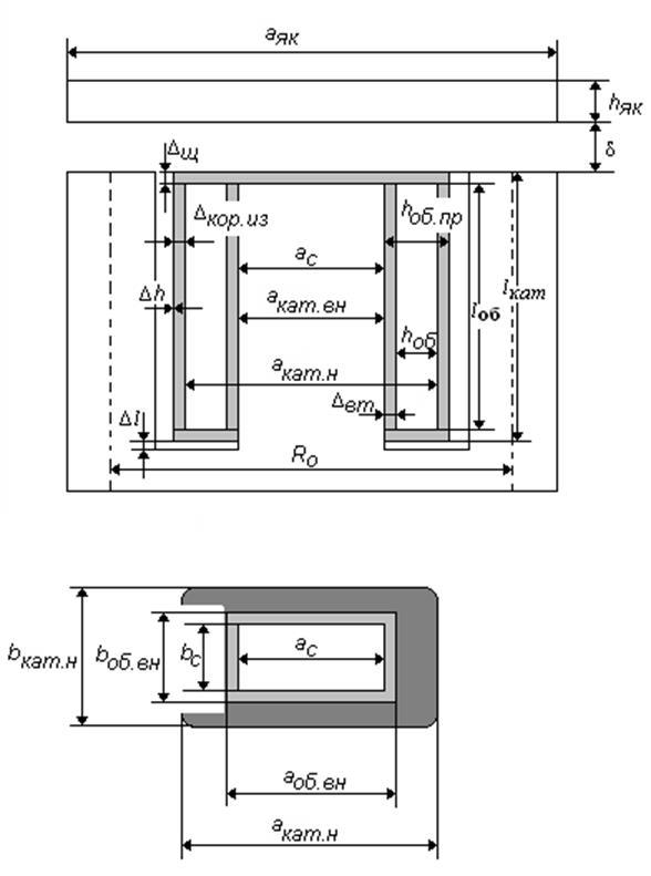 Эскиз электромагнита