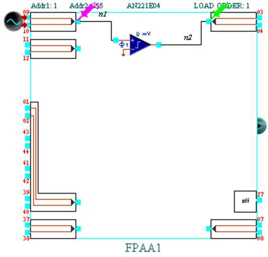 Схемы компаратора, интегратора