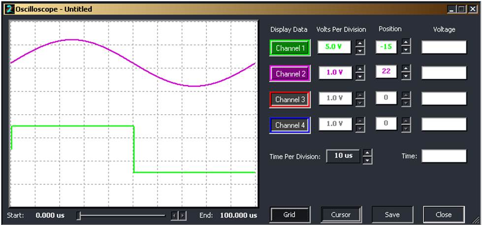 Частота дискретизации 4МГц