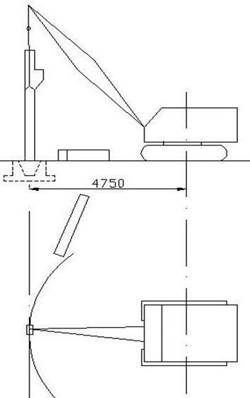 10 – Схема монтажа колонн