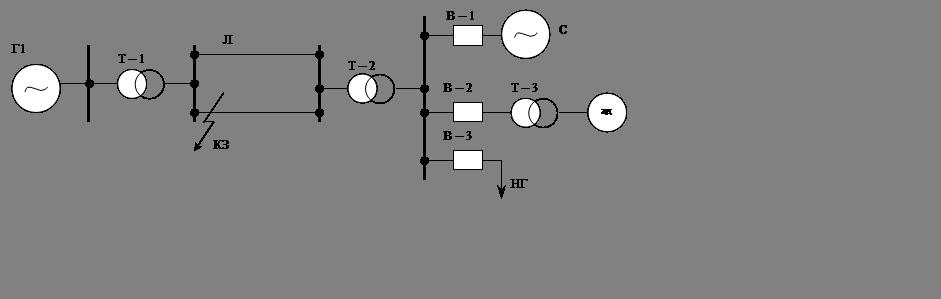 Однолинейная электрическая