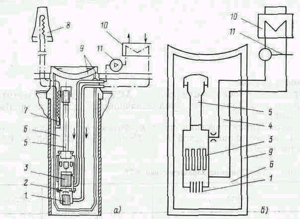 в корпус реактора паровой