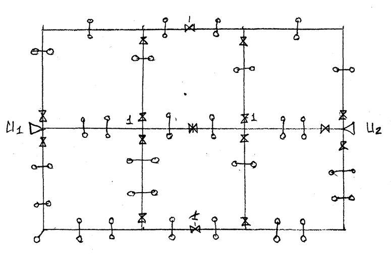 Если сеть А-т как кольцевая,