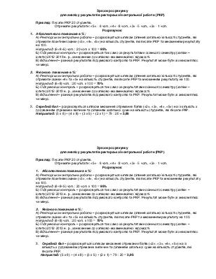 аналіз контрольної роботи бланк img-1