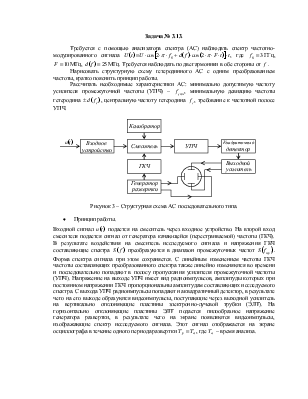 Структурная схема цифрового
