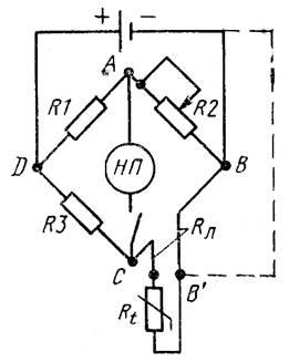 Схема-уравновешанного моста