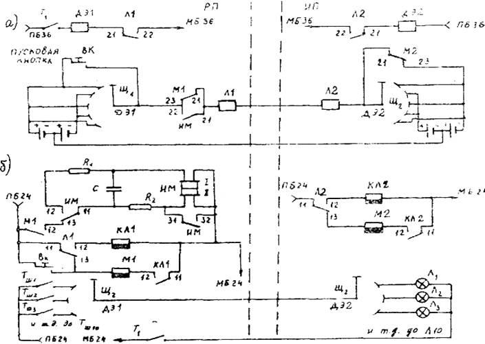 Схема распределительной