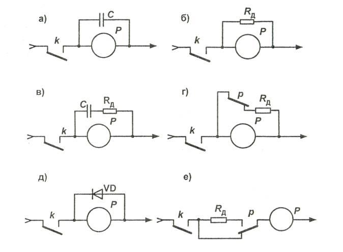 Схемы замедления и ускорения