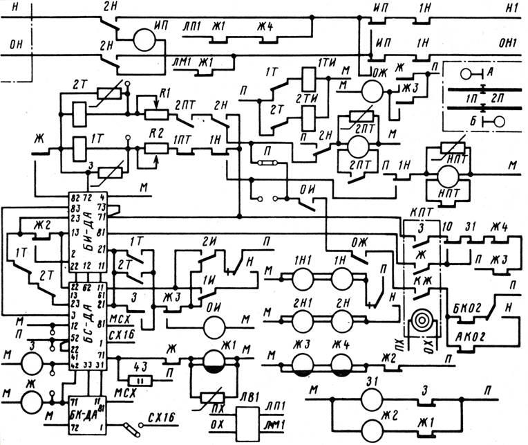Схема сигнальной установки