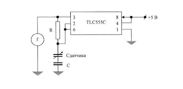 Схемы подключения датчика