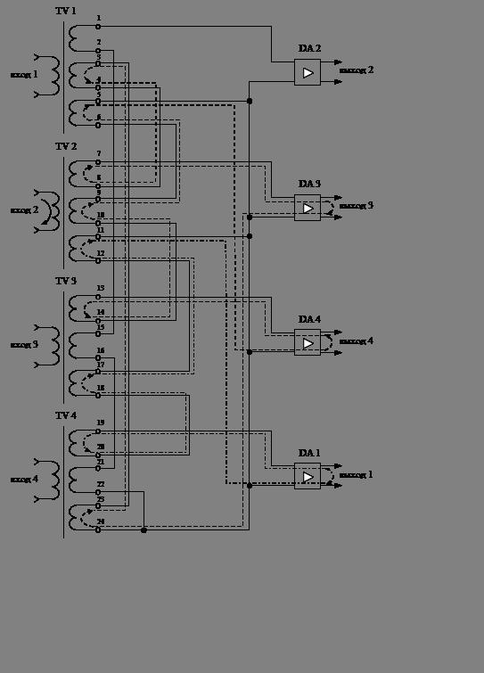 43 – Схема распределителя