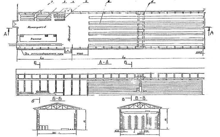 мостового крана-штабелера