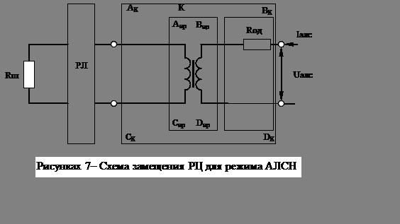 На рисунке 7 приведена схема